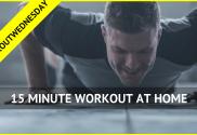 15 minute workout #workoutwednesday Neale Bergman